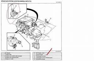 Is The Pcv Valve On A 2007 Mazda Cx7 Located At The Front