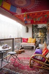 24, Colorful, Boho, Chic, Balcony, D, U00e9cor, Ideas