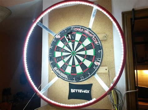Led Dart Board Beleuchtung Für Steel Darts Selbst Gemacht