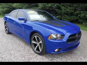 2013 Dodge Charger RT Daytona Edition Blue HEMI