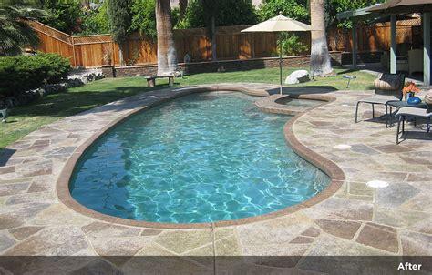 flagstone design tile design patios pool decks 4