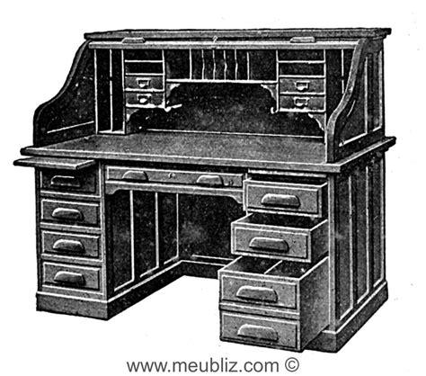 meuble rideau bureau bureau américain à rideau meuble classique