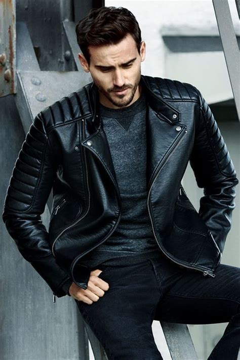 Latest Leather Jacket Style for Cool Men u2013 Designers Outfits Collection