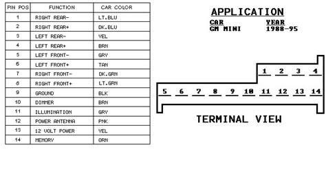 2003 oldsmobile alero radio wiring diagram 42 wiring