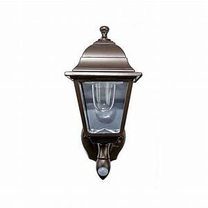 Maxsa Motion-Sensing Indoor/Outdoor LED Wall Sconce