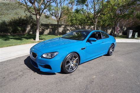 bmw  coupe competition package  laguna seca blue