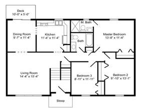 bi level house floor plans high quality basic house plans 8 bi level home floor