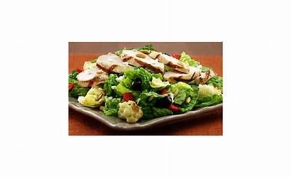 Grilled Salad Chicken Mediterranean Marinated Healthy