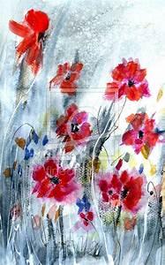 Aquarell Malen Blumen : 55 besten blumen malen aquarell acryl bilder auf pinterest ~ Articles-book.com Haus und Dekorationen