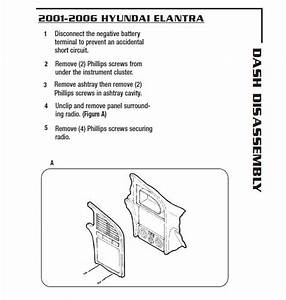 2002 Hyundai Elantra Installation Parts  Harness  Wires