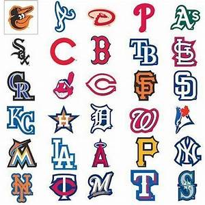 Baseball Team Logo Decal Stickers MLB Licensed Choose from ...