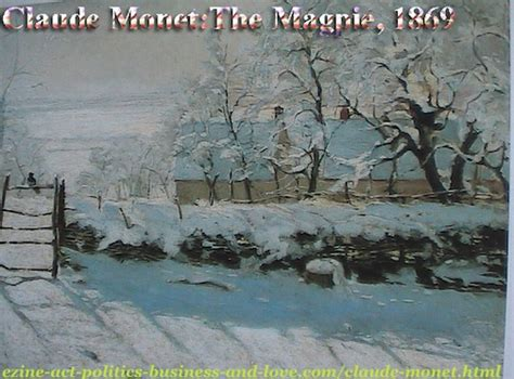 Claude Monet The Impressionist French Painters Artworks