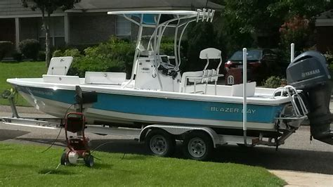 Bay Boats For Sale Mobile Al by Beautiful Blazer Bay Boat For Sale The Hull