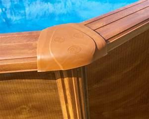 Piscine Acier Aspect Bois : piscine acier gr mod le sicilia ovale aspect bois 5 x 3 x ~ Dailycaller-alerts.com Idées de Décoration