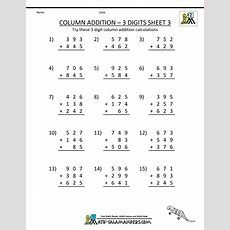 Second Grade Addition Worksheets