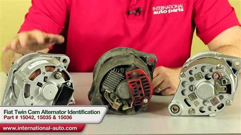 Fiat Twin Cam Alternator Identification International