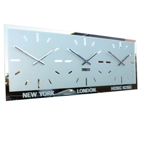 time zone world wall clocks multiple time zones buy