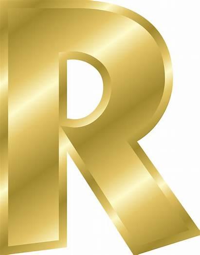 Gold Letters Alphabet Clipart Letter Effect Transparent