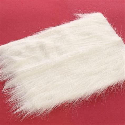 white long pile craft faux fur doll hair doll making supplies craft supplies