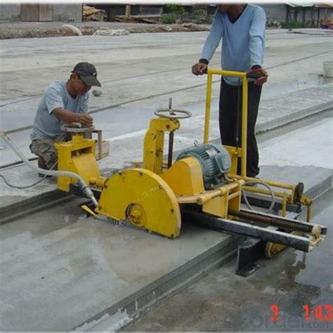buy prestressed concrete hollow core slab cutting machine