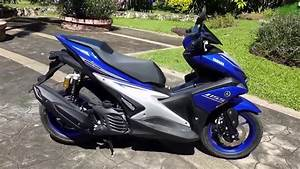 Review Yamaha Aerox 155 Nvx 155 R Version