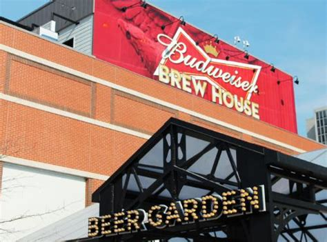 budweiser brew house opens doors at ballpark in st louis food beverage news