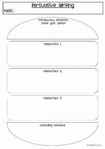 persuasive writing burger template classroom ideas With burger writing template