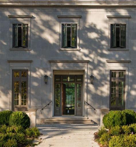 classic limestone architecture  construction exterior