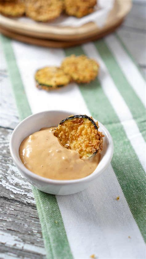 zucchini chips fryer air recipe jz eats recommendations sauce