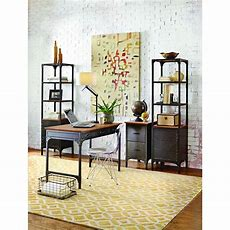 Home Decorators Collection Ambrose Natural Storage Open