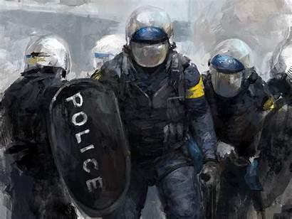 Police Wallpapers Backgrounds Desktop Officer Computer Iphone