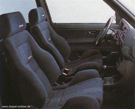 Bequeme Sitze Seite 2 Golf 2 Doppel Wobber