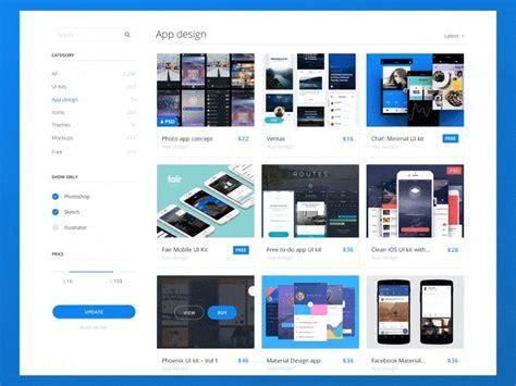 Marketplace Web Design [product] By Eleken.