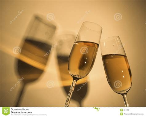 Champagne Toast 2 Royalty Free Stock Photos