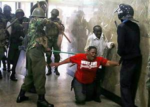 """Kenyans cry """"stop police brutality"""" after gory photos of ..."""