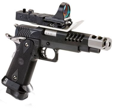 sti steelmaster 2011 pistol 10 240066 9mm 4 15 quot black zytel grips black finish 20 rd able
