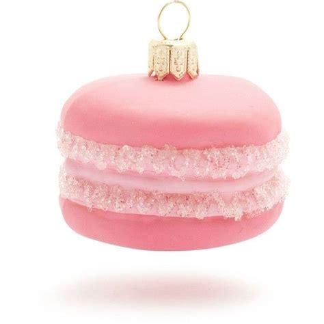 pink macaron ornament at sur la table christmas winter