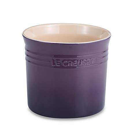 Buy Le Creuset Large Utensil Crock   Cassis from Bed Bath