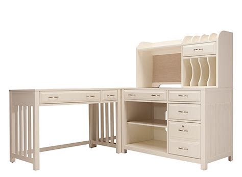 beacon 4 pc home office set white raymour flanigan