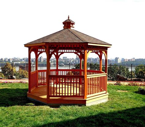 hexagon gazebo 14 cedar wood gazebo designs octagon rectangle hexagon