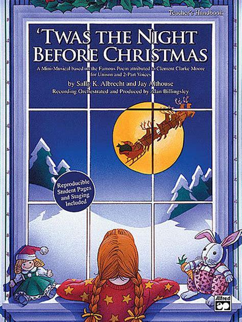 twas  night  christmas cd kit sheet