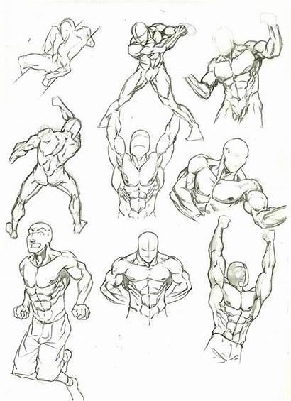 Anatomy Study Deviantart Poses Drawing Marvelmania Male