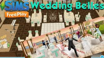 the sims freeplay wedding belles live event walkthrough overview youtube