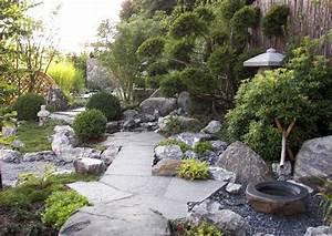 Pflanzen Japanischer Garten : steingarten anlegen und gestalten natur und architektur ~ Lizthompson.info Haus und Dekorationen