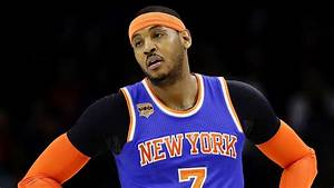 New York Knicks put Carmelo Anthony trade talks on hold ...  Carmelo
