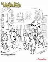 Coloring Attic Friends Storytime Magical Teachervision sketch template