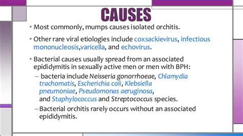 Orchitis Epididymitis