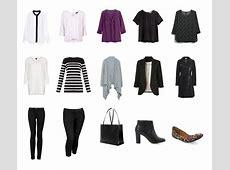 Fall & Winter Capsule Wardrobe Office Edition The