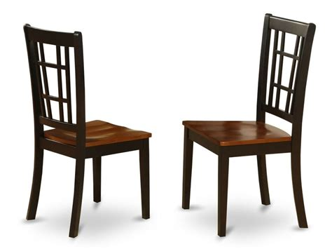 set   nicoli dinette kitchen dining chairs  plain