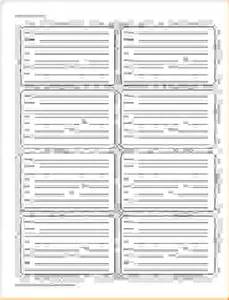 Free Printable Address Book Page Template